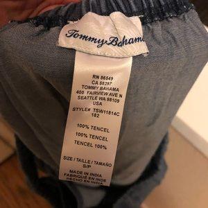 Tommy Bahama Dresses - Tommy Bahama Denim Like Off The Shoulder MidiDress